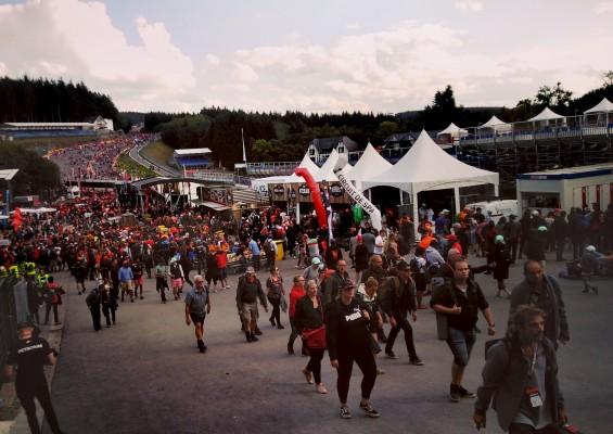 Le circuit automobile de Spa-Francorchamps, un des symboles du softpower wallon
